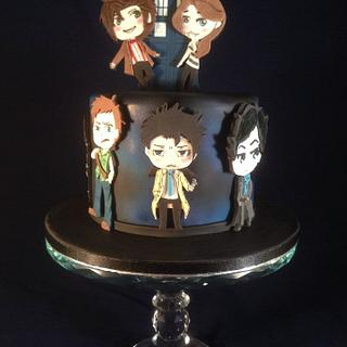 Character cake - Cake by For the love of cake (Laylah Moore)
