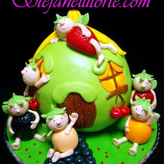 fruit  fairy cake