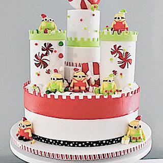 The Sugar Nursery's - Merry Minion Mansion - Cake by The Sugar Nursery - Cake Shop & Imaginarium