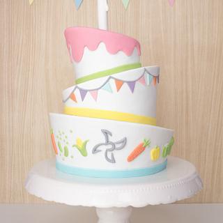 Topsy Turvy Cake - Cake by Lydia ♥ vertortelt.de
