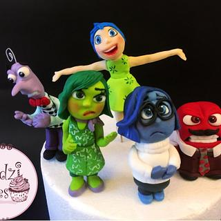 Inside Out Figures💜💙💛💚❤️