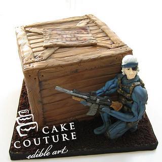 Videogame cake...
