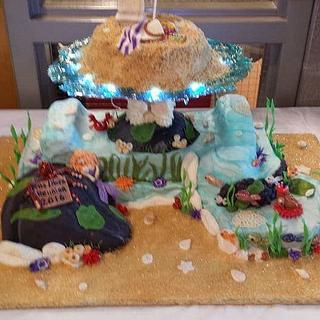 Under The Sea Reunion - Cake by Samantha Dean
