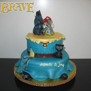 BRAVE Cake - Cake by Miky1983
