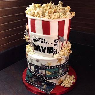 Popcorn anyone  - Cake by Made To Order (MTO)