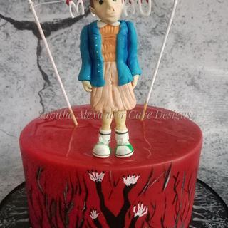Stranger things cake - Cake by Savitha Alexander