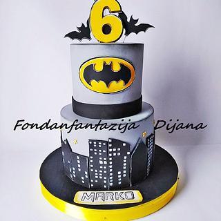 Batman themed cakes