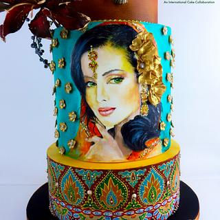 Incredible India Collaboration - Wedding Cake