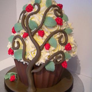 Tangled Raspberry Tree!