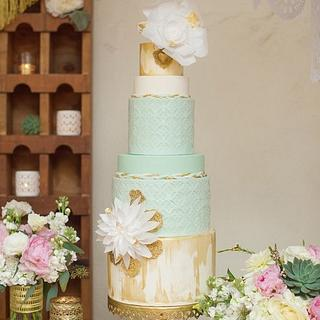 Spanish Romance - Cake by Stevi Auble
