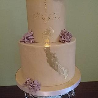 Gold Leaf Wedding