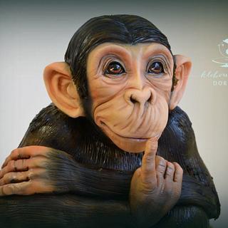 monkey - Cake by pavlo