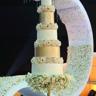 """Glory""- Wedding cake"