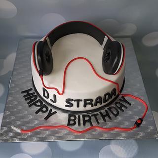 Cake for a DJ.