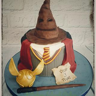 Harry Potter Sweater Cake