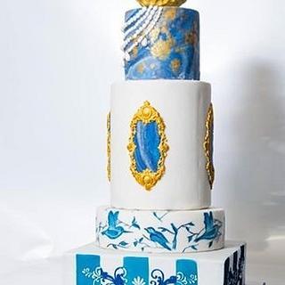 Fantasy weddinng cake