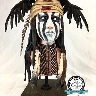 "Cake Con Collaboration- ""Tonto"" lonely Ranger"