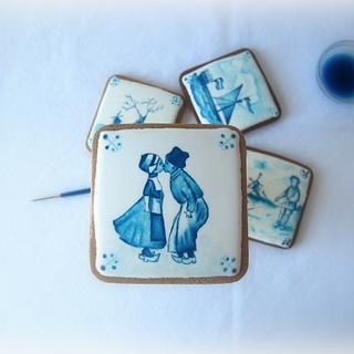 cookies-Holland tiles of Delft