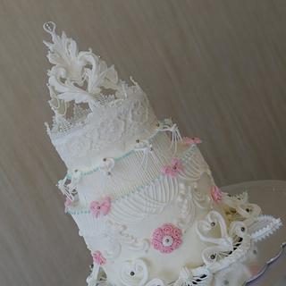 A special,Wedding cake