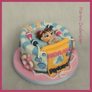 Swimming Diploma cake!