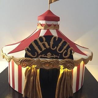 Cake Carnival Circus Tent