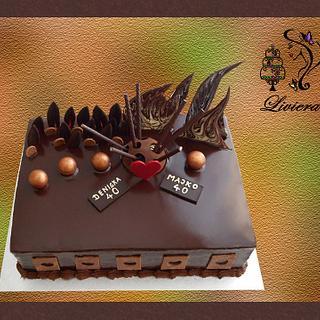 birthday cake  - Cake by LiViera