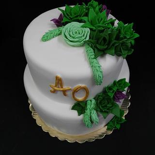 wedding cake - Cake by Ralitza Hristova