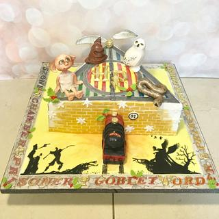 Deathly Hallows Christmas Cake