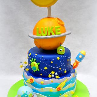 Space Themed Cake - Cake by Sweet Success