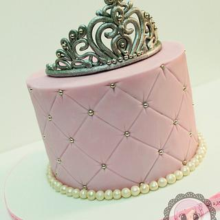Simple Quilted cake