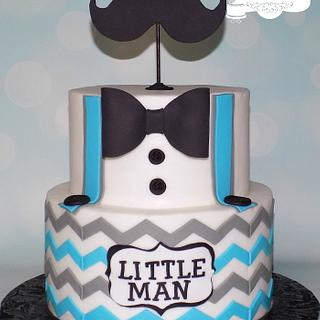 Little Man - Cake by Sugar Sweet Cakes