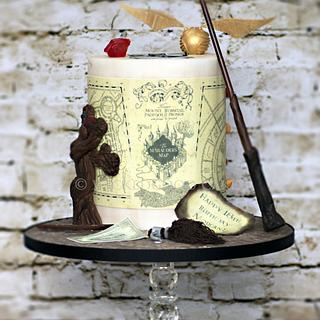 Harry Potter 18th Birthday - Cake by WickedGood Cakes