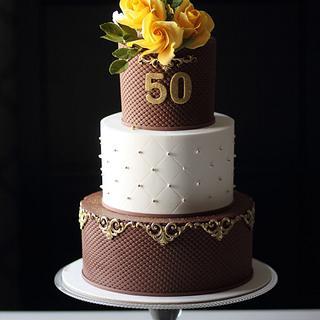 Lady birthday cake