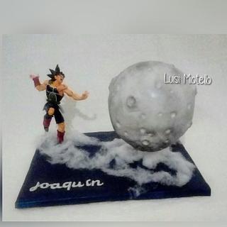 La Luna y Goku