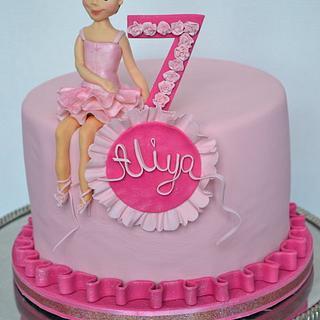 Ballerina cake - Cake by Carol