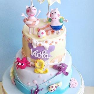 Peppa Pig - Cake by Patrizia Greco
