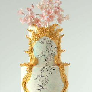 Cherry Blossom Cake - Cake by Cookie Hound!