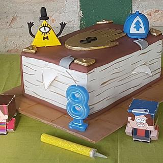 Gravity Four - Cake by Ofelia Bulay