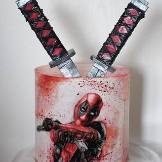 Deadpool - Cake by Annbakes