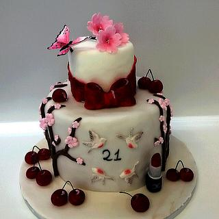 Cherry blossom cake - Cake by Le torte di Lulù