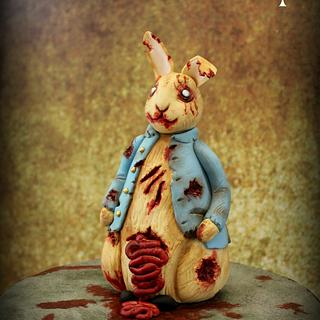 Sugar Art Zombies Collaboration - Peter Rabbit model