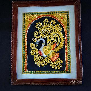 Royal icing Tanjore  Painting