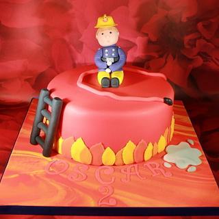 Fireman Sam Cake - Cake by SweetSensationsLancs