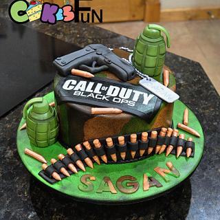 Call of Duty - Cake by Cakes For Fun