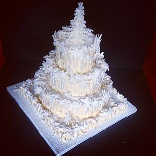 Enchanted Christmas Cake