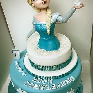 Frozen Cake - Cake by Verocakes