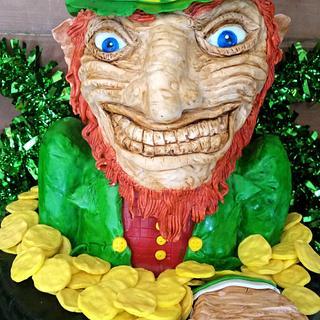 leprechaun cake! !