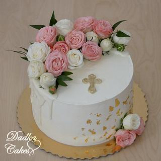 The first holy communion cake