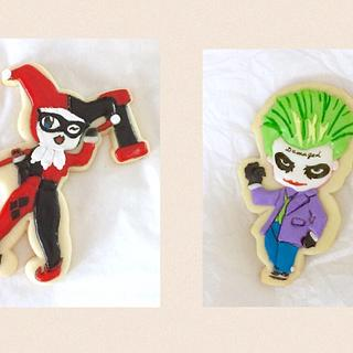 Joker and Harley - Cake by paula0712
