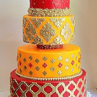 Indian wedding Cake- SugarLove